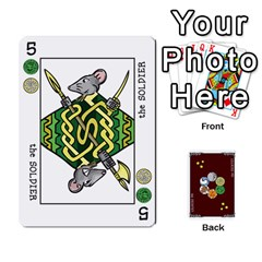 The Decktet   Red Back By John   Playing Cards 54 Designs   Oita1lgwpzp4   Www Artscow Com Front - Diamond6