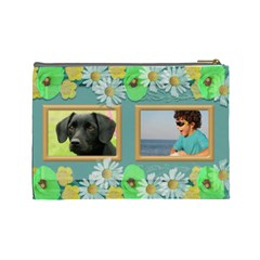 My Family Cosmetic Bag (large) By Deborah   Cosmetic Bag (large)   Ijx6ra0xvr1e   Www Artscow Com Back