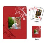 simple life - Playing Cards Single Design