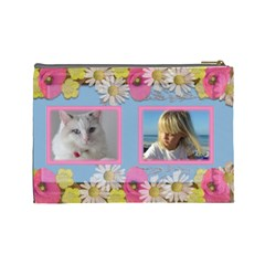 Little Princess Cosmetic Bag (large) By Deborah   Cosmetic Bag (large)   9rzoyrmbc1n7   Www Artscow Com Back