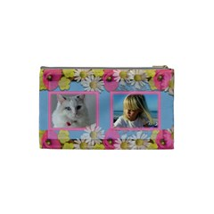Little Princess Cosmetic Bag (small) By Deborah   Cosmetic Bag (small)   Ua3rdreohllp   Www Artscow Com Back