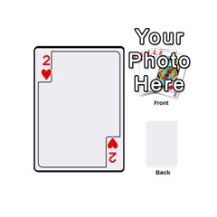Card Template By K Kaze   Playing Cards 54 (mini)   Apzohs6hynwa   Www Artscow Com Front - Heart2