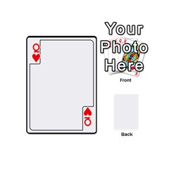 Queen Card Template By K Kaze   Playing Cards 54 (mini)   Apzohs6hynwa   Www Artscow Com Front - HeartQ