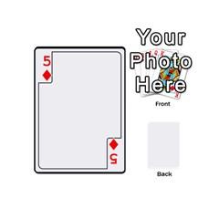 Card Template By K Kaze   Playing Cards 54 (mini)   Apzohs6hynwa   Www Artscow Com Front - Diamond5