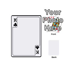 King Card Template By K Kaze   Playing Cards 54 (mini)   Apzohs6hynwa   Www Artscow Com Front - ClubK