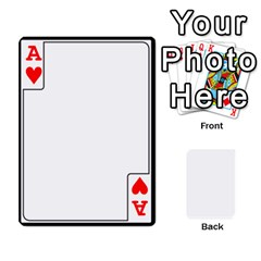 Ace Card Border   54 Designs By K Kaze   Playing Cards 54 Designs   Op6mkuq9izam   Www Artscow Com Front - HeartA