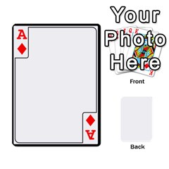 Ace Card Border   54 Designs By K Kaze   Playing Cards 54 Designs   Op6mkuq9izam   Www Artscow Com Front - DiamondA