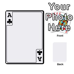 Ace Card Border   54 Designs By K Kaze   Playing Cards 54 Designs   Op6mkuq9izam   Www Artscow Com Front - ClubA