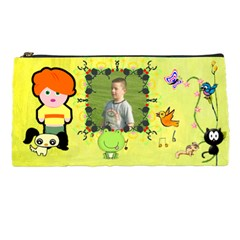 Child With Critter Pencil Case By Kim Blair   Pencil Case   Qooh8u3zdld3   Www Artscow Com Front
