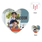 soccer - Playing Cards (Heart)