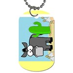 c.a.d. 2012 - Dog Tag (Two Sides)