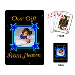 Gift from Heaven playing cards - Playing Cards Single Design