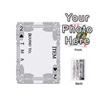London Below Item Cards - Playing Cards 54 (Mini)