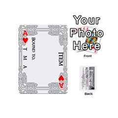 Ace London Below Item Cards By Peter Cobcroft   Playing Cards 54 (mini)   Npi4onxgf3pa   Www Artscow Com Front - HeartA