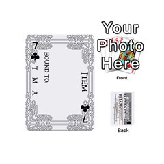 London Below Item Cards By Peter Cobcroft   Playing Cards 54 (mini)   Npi4onxgf3pa   Www Artscow Com Front - Club7