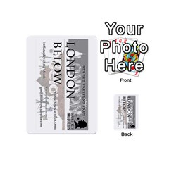 London Below Item Cards By Peter Cobcroft   Playing Cards 54 (mini)   Npi4onxgf3pa   Www Artscow Com Back