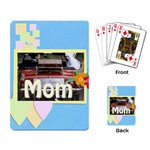 mom - Playing Cards Single Design