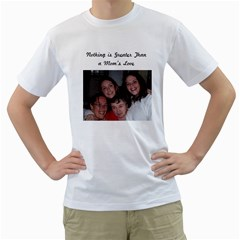 Christine Mom By Shelleyww42 Gmail Com   Men s T Shirt (white) (two Sided)   Debgcetnypdb   Www Artscow Com Front