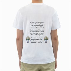 Christine Mom By Shelleyww42 Gmail Com   Men s T Shirt (white) (two Sided)   Debgcetnypdb   Www Artscow Com Back