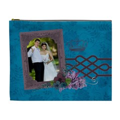 Royal/queen Cosmetic Bag (xl) By Mikki   Cosmetic Bag (xl)   Ok5exylws8ro   Www Artscow Com Front