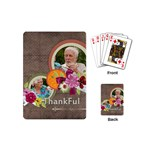 thank you - Playing Cards (Mini)