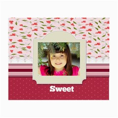 Sweet By Divad Brown   Small Glasses Cloth (2 Sides)   1umcuiqnoibr   Www Artscow Com Front