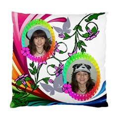 Color Wave Pillow Two Sides By Kim Blair   Standard Cushion Case (two Sides)   Og7feeeqvumw   Www Artscow Com Front