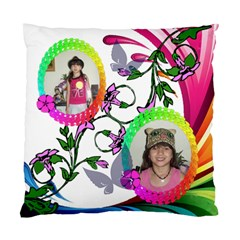 Color Wave Pillow Two Sides By Kim Blair   Standard Cushion Case (two Sides)   Og7feeeqvumw   Www Artscow Com Back