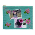 XL Cosmetic Bag - in bloom - Cosmetic Bag (XL)