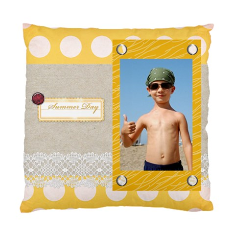 Summer By Joely   Standard Cushion Case (one Side)   Bfe413uqj2gk   Www Artscow Com Front