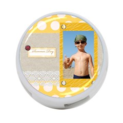 Summer By Joely   4 Port Usb Hub (two Sides)   9s7yp22dz6sd   Www Artscow Com Front