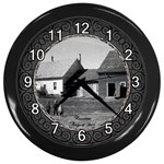 lizmarie - Wall Clock (Black)