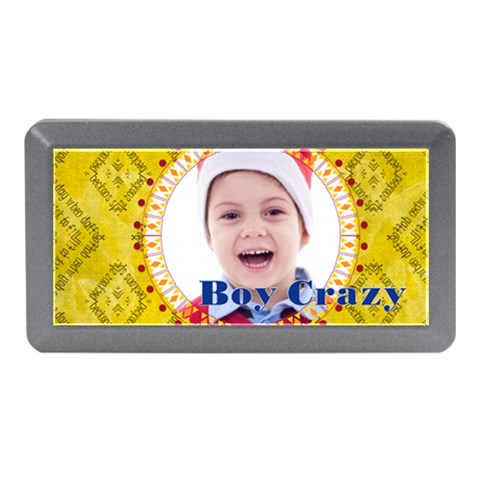 Boy Crazy By May   Memory Card Reader (mini)   50fpiqgwfy72   Www Artscow Com Front