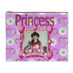 Pink Princess Cosmetic Bag XL 2 sides - Cosmetic Bag (XL)