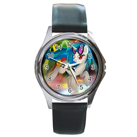 By Bryce Campbell   Round Metal Watch   1d2jsikdal0p   Www Artscow Com Front