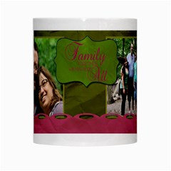 Family Mug Two Pictures By Patricia W   White Mug   Mhuhglawe3g9   Www Artscow Com Center
