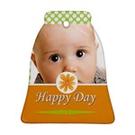 happy day - Bell Ornament (Two Sides)