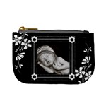 Black and White Mini Coin Purse