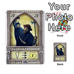 Notre Dame   Original Y Expansion   3 Copias By Doom18   Multi Purpose Cards (rectangle)   G2omai2clw0l   Www Artscow Com Front 4