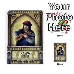 Notre Dame   Original Y Expansion Y Marrones   2 Copias By Doom18   Multi Purpose Cards (rectangle)   Vt6btk65lnk3   Www Artscow Com Front 19