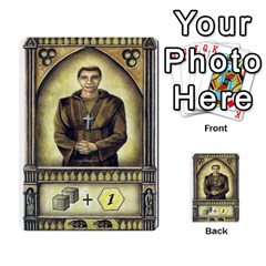 Notre Dame   Original Y Expansion Y Marrones   2 Copias By Doom18   Multi Purpose Cards (rectangle)   Vt6btk65lnk3   Www Artscow Com Front 30