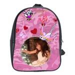 Pink book bag Large - School Bag (Large)