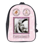 Baby Girl Bag (Large) - School Bag (Large)