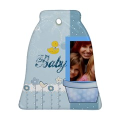Baby By Jacob   Bell Ornament (two Sides)   Xnvtfhbs5zgz   Www Artscow Com Front