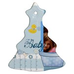 baby - Christmas Tree Ornament (Two Sides)
