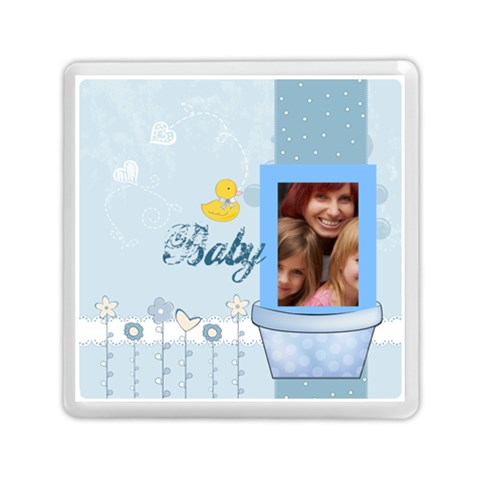 Baby By Jacob   Memory Card Reader (square)   Wxqwo1vdvszq   Www Artscow Com Front