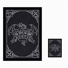 Jon Cards By Benjamin Lee   Multi Purpose Cards (rectangle)   O1z0wz69mk7z   Www Artscow Com Back 1