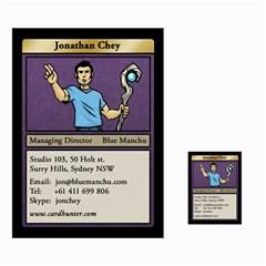 Jon Cards By Benjamin Lee   Multi Purpose Cards (rectangle)   O1z0wz69mk7z   Www Artscow Com Front 35