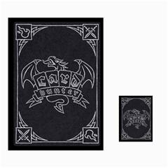 Jon Cards By Benjamin Lee   Multi Purpose Cards (rectangle)   O1z0wz69mk7z   Www Artscow Com Back 35
