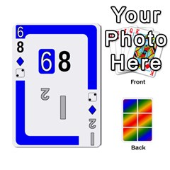 Rainbow Deck V2 0 Deck 2 By Changcai   Playing Cards 54 Designs   Bxpdo2h5wgo2   Www Artscow Com Front - Diamond10